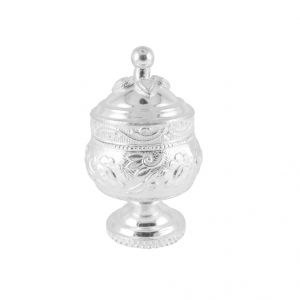 Buy Jpearls Facile Silver Kumkum Dabi online
