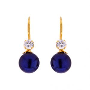 Buy Dazzling Pearl Earrings Code-jpjun-17-0011 online