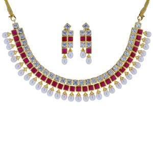 Buy Royal Necklace Set Code-jpjun-17-0013 online