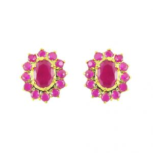 Buy Jpearls Aster Cz Earrings online