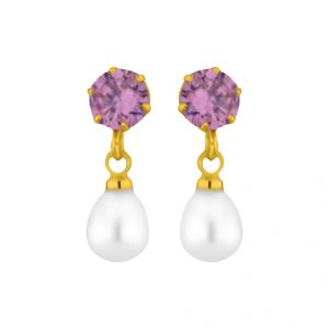 Buy Jpearls Pari Pearl Earrings online