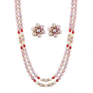 Buy Jpearls Monalisa Necklace Set online