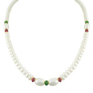 Buy Jpearls Simple Pearl Set - Jpnov-152 online