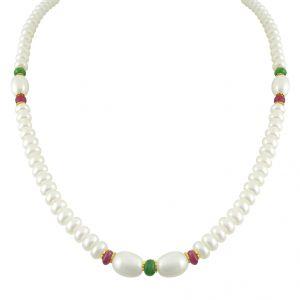 Buy Jpearls Simple Pearl Set online