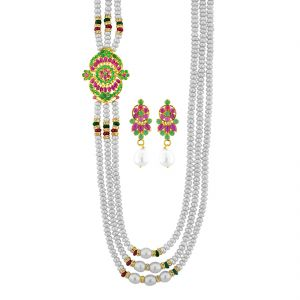 Buy Jpearls Dakshana Necklace online