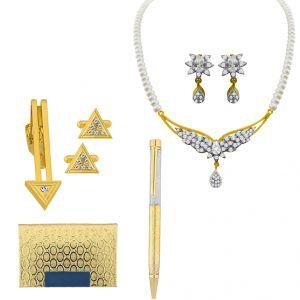 Buy Sri Jagdamba Pearls Lovable Couple Hamper - Jpv-17-36 online