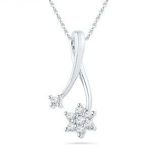 Buy Jpearls Fara Diamond Pendant online
