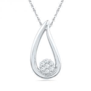 Buy Jpearls Diva Diamond Pendant online