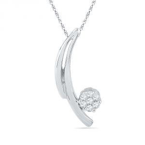 Buy Jpearls Sagun Diamond Pendant online