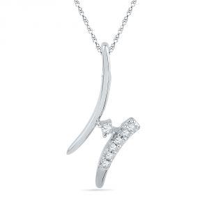 Buy Jpearls Classy Diamond Pendant online