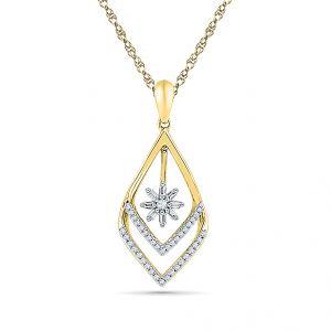 Buy Sri Jagdamba Pearls Dream Girl Diamond Pendant-pf019837 online