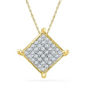 Buy Jpearls Skylar Diamond Pendant online