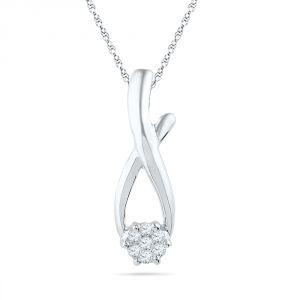 Buy Jpearls Dora Diamond Pendant online