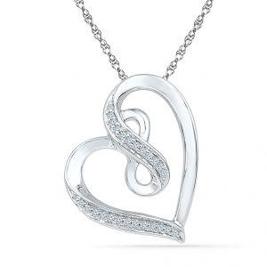 Buy Sri Jagdamba Pearls Brilliant Diamond Pendant-ph074205 online