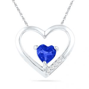 Buy Jpearls Timeless Heart Diamond Pendant online