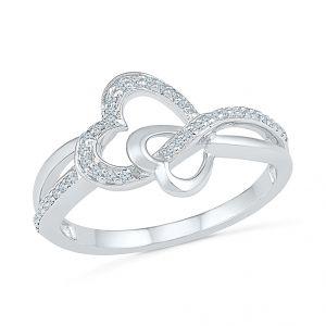 Buy Sri Jagdamba Pearls Diamond Finger Ring-rh074110 online