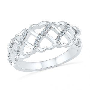 Buy Sri Jagdamba Pearls Flawless Diamond Ring-rh077601 online