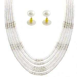 Buy Jpearls Capacious Massive Pearl Set-sjpjn-454 online