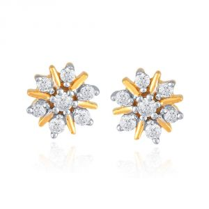 Buy Nakshatra Yellow Gold Diamond Earrings Nera210gsi-jk18y online