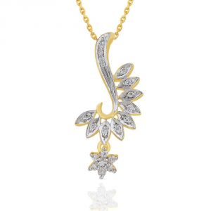 Buy Maya Diamond Yellow Gold Diamond Pendant Npc369si-jk18y online