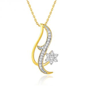 Buy Nakshatra Yellow Gold Diamond Pendant Npa324si-jk18y online