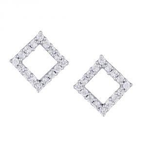 Buy Gili Yellow Gold Diamond Earrings Ee464si-jk18y online
