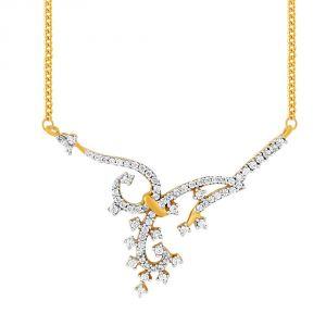 Buy Asmi Yellow Gold Diamond Tanmaniya Fp124si-jk18y online