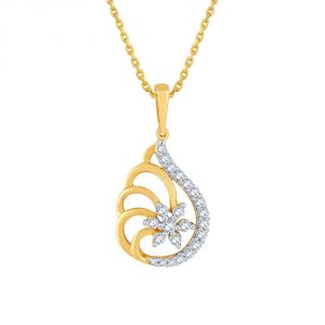 Buy Nakshatra Yellow Gold Diamond Pendant Pp21343si-jk18y online