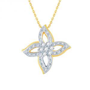 Buy Nakshatra Yellow Gold Diamond Pendant Ap571si-jk18y online