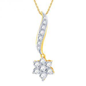 Buy Nakshatra Yellow Gold Diamond Pendant Ap856si-jk18y online