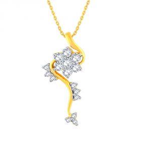 Buy Nakshatra Yellow Gold Diamond Pendant online