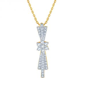 Buy Nakshatra Yellow Gold Diamond Pendant Ap580si-jk18y online