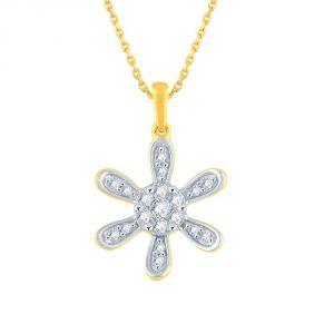 Buy Nirvana Yellow Gold Diamond Pendant online