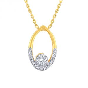Buy Nirvana Yellow Gold Diamond Pendant Ip049si-jk18y online