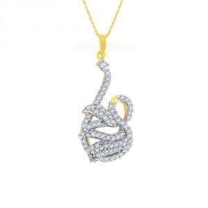 Buy Sangini Yellow Gold Diamond Pendant Aap646si-jk18y online