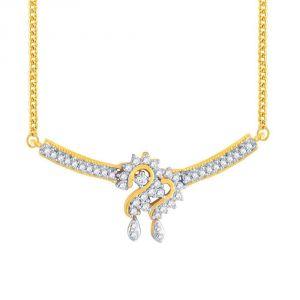 Buy Sangini Yellow Gold Diamond Tanmaniya Cp748si-jk18y online