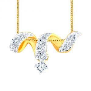 Buy Me-solitaire Yellow Gold Diamond Pendant Ap686si-jk18y online