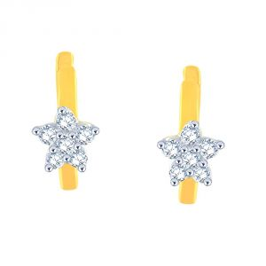 Buy Nakshatra Yellow Gold Diamond Earrings Le3773si-jk18y online