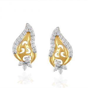 Buy Sangini Yellow Gold Diamond Earrings Ade01408si-jk18y online
