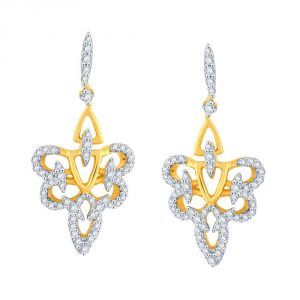 Buy Sangini Yellow Gold Diamond Earrings Baep142si-jk18y online