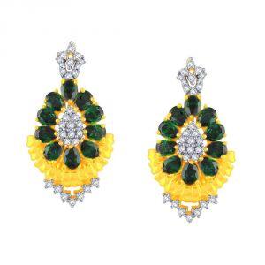 Buy Parineeta Yellow Gold Diamond Earrings Baep158si-jk18y online