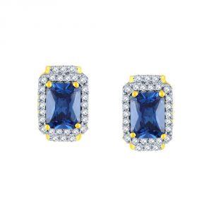 Buy Parineeta Yellow Gold Diamond Earrings Ee312si-jk18y online