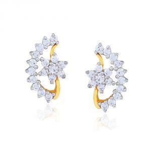 Buy Nakshatra Yellow Gold Diamond Earrings Nera314si-jk18y online
