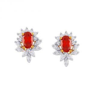 Buy Parineeta Yellow Gold Diamond Earrings Nerc727si-jk18y online