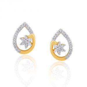 Buy Nakshatra Yellow Gold Diamond Earrings Nerc823si-jk18y online