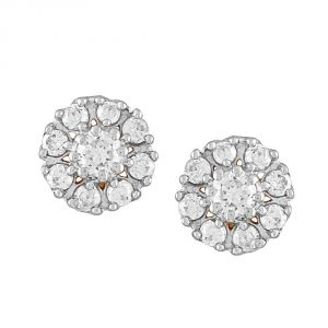 Buy Sangini Yellow Gold Diamond Earrings Ye258si-jk18y online