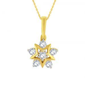 Buy Nakshatra Yellow Gold Diamond Pendant Ap386si-jk18y online