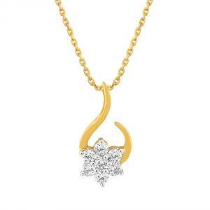 Buy Nakshatra Yellow Gold Diamond Pendant Ap412si-jk18y online