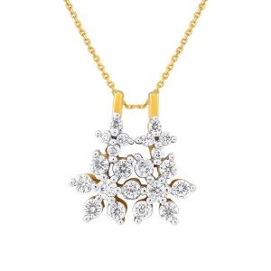Buy Nakshatra Yellow Gold Diamond Pendant Ap926si-jk18y online