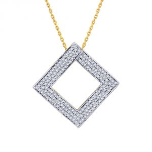Buy Sangini Yellow Gold Diamond Pendant Ep480si-jk18y online